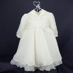 Robe de cérémonie bébé ivoire RIML 57PU