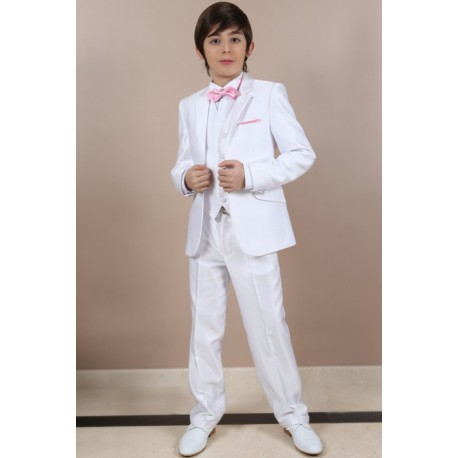 Costume garçon blanc Les petits mecs DIVA pour marige 80076519a62