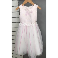 Robe princesse tulle parme