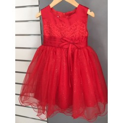 Robe princesse tulle rouge