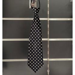 Cravate garçon fantaisie marine