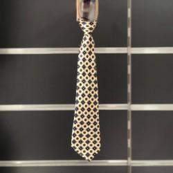 Cravate garçon fantaisie jaune