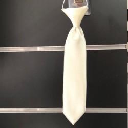 Cravate bébé ivoire