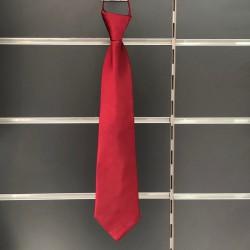 Cravate garçon bordeaux