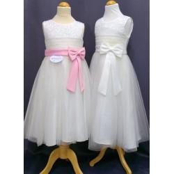 Robe de cérémonie fille REF CHJ 0003SM