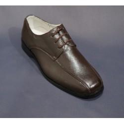 Chaussures cérémonie garçon marron du 31 au 35