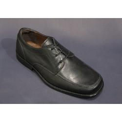 Chaussures cérémonie garçon cuir noir Réf. 914 du 29 au 40