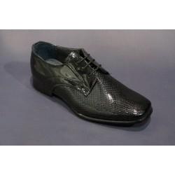 Chaussures cérémonie garçon noir du  24 au 33