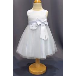 Robe de baptême blanche bébé fille CH 0004SM