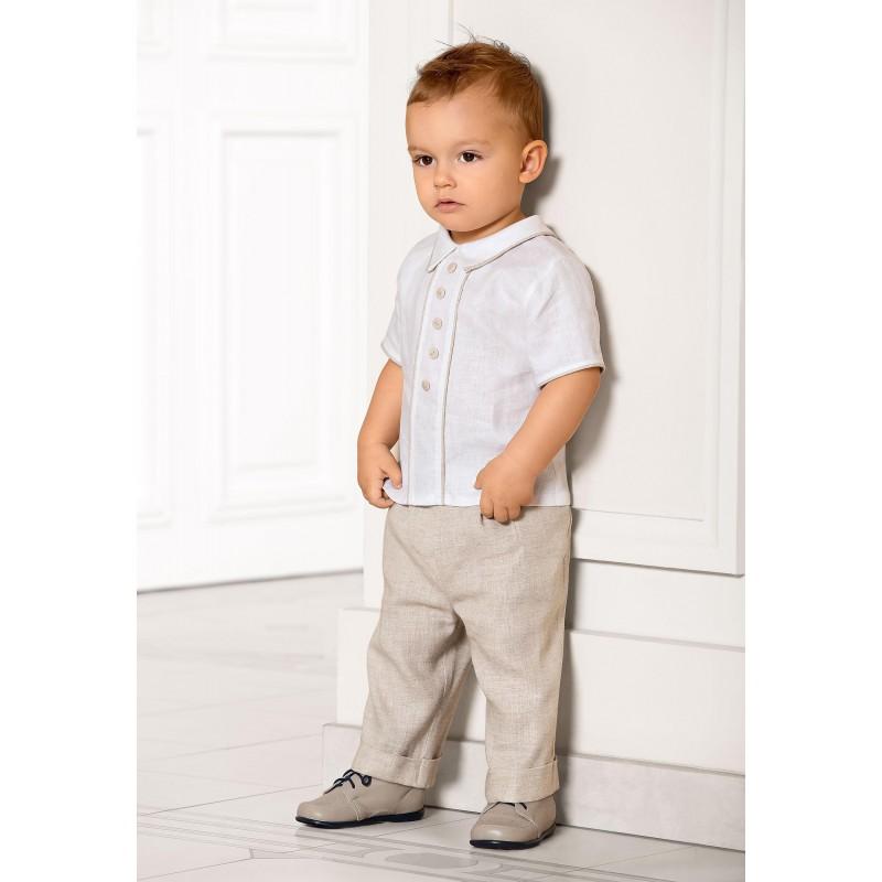06514aadea927 pantalon lin garcon 2 ans