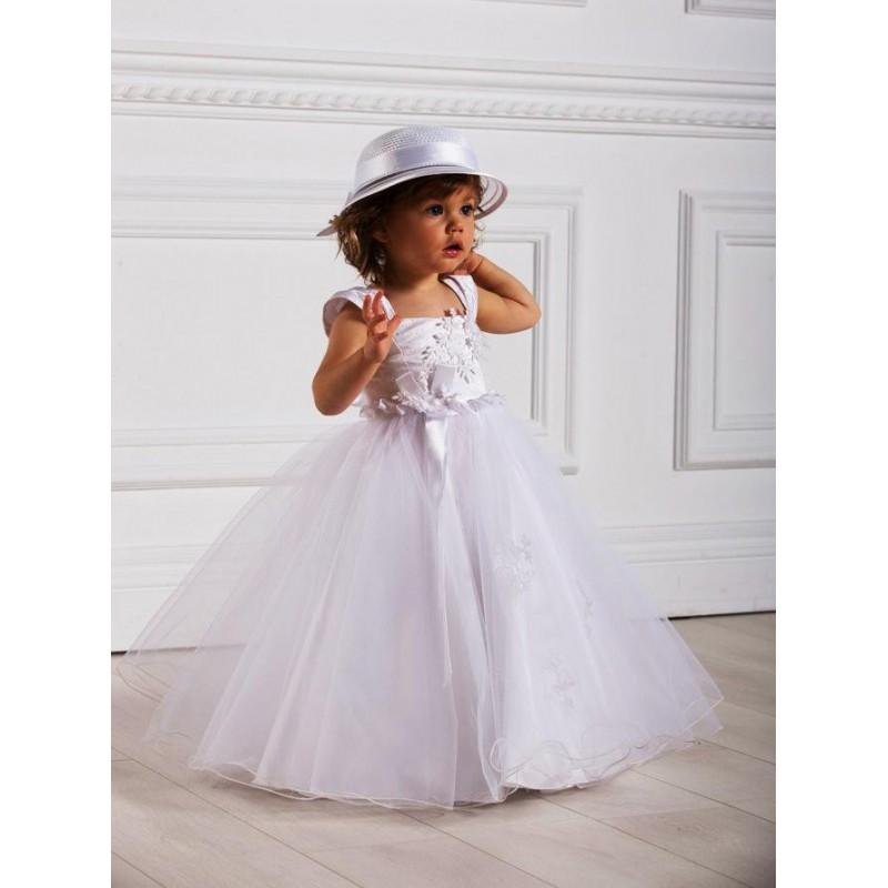 Robe de ceremonie fille 4 ans