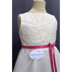 Robe de cérémonie fille REF CR-ZITA