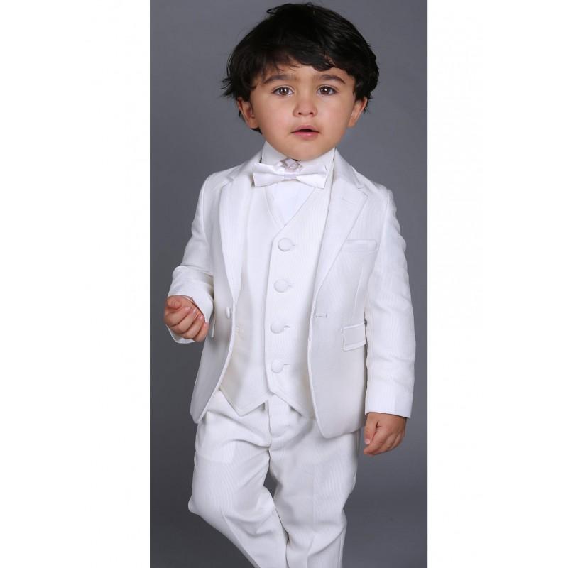 Costume bapt me b b gar on les petits mecs r f diva couleur blanc - Bebe gar kamer model ...