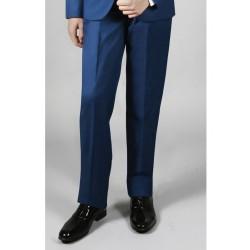 Pantalon bleu roi cérémonie garçon