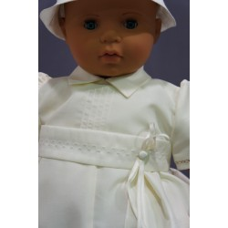 Barboteuse de baptême ivoire IV05