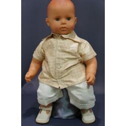 Ensemble cérémonie bébé garçon 2 pièces Ref. PORT/IV465