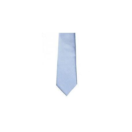 Cravate garçon satin bleu ciel