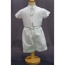 Ensemble cérémonie chemise bermuda blanc NOAH