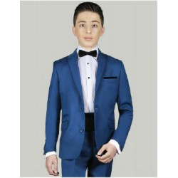 Costume garçon bleu roi Les petits mecs EVAN pour mariage b69eac8fd69