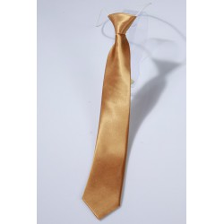 Cravate garcon or