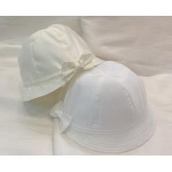 Chapeau cérémonie forme cloche noeud 2