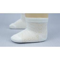 Chaussette blanche cérémonie garçon