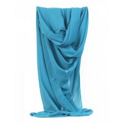 Etole mousseline turquoise