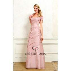 Robe de soirée Creatif Paris RO483B (avec boléro)