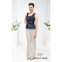 Ensemble bustier et pantalon Creatif Paris EN340