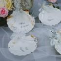 Coupelle de baptême ou coquille de baptême eau bénie motifs argent