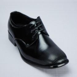 Chaussures cérémonie garçon noir du 26 au 37 ref. 610