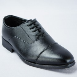 Chaussures cérémonie garçon noir du 25 au 34 ref. 990
