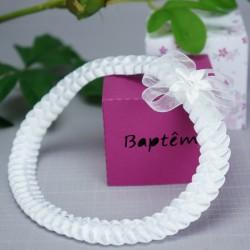 Bandeau cheveux bébé cérémonie baptême 2