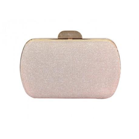 29acda94c5 Pochette, minaudière, box, cérémonie, soirée femme rose, grise, doré