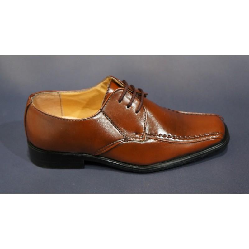 Chaussures marron garçon J2grRYyb