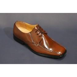 Chaussures cérémonie garçon noir ou marron du 25 au 34