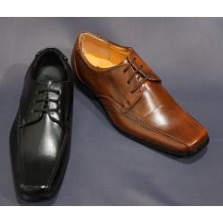 Chaussures cérémonie garçon noir ou marron du 17 au 40