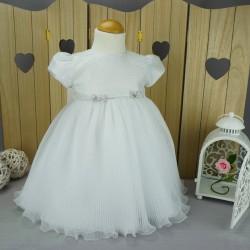 Robe de baptême blanche PO 1005MC