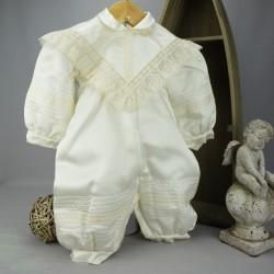 Barboteuse de baptême ivoire IV12