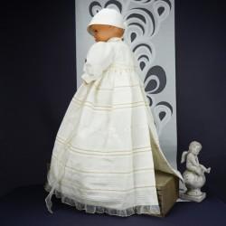 Robe longue de baptême traditionnelle TANILA