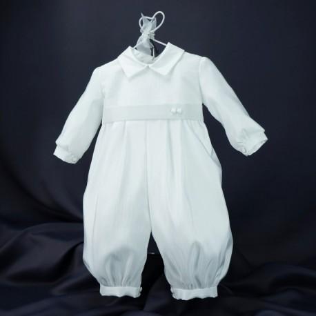 Barboteuse baptême blanche JADEN 1