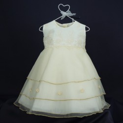 Robe cérémonie bébé RISM 01PU