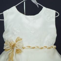 Robe cérémonie bébé RISM 11 beige