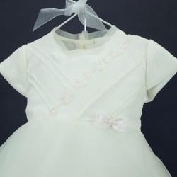 Robe bébé cérémonie RIMC 25 rose